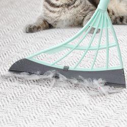쓰리잘비2 길이조절형 고양이 강아지 털 청소 슈퍼빗자루