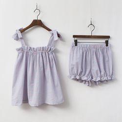Pretty Frill Pajama Set