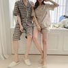 Nana Check Pajama Set - 커플룩
