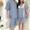 Sweet Check Pajama Set - 커플룩
