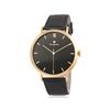 [Timepieces] 블랙 바인덱스 남성용 커플가죽시계 OTC120503APB