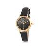 [Timepieces] 블랙 바인덱스 여성용 커플가죽시계 OTC220503APB