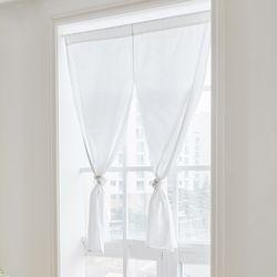 광목 가림막 커튼 분리형도어 창문 가리개