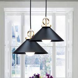 벨리타 1등 펜던트 블랙 식탁등 주방등 램프