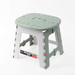 스툴스 타원 접이식 의자(그린) (S)