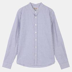 옥스포드 핸리넥 스트라이프 셔츠 IBYC19A01