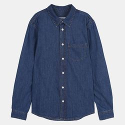 UNI 베이직 데님셔츠 (2color) IBYJ20S01