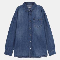 루즈핏 데님셔츠 (남녀공용) IBYJ20S02