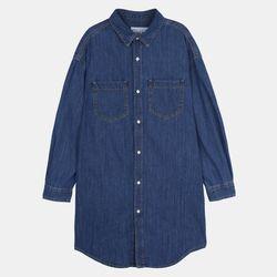 여성 베이직 롱 해지셔츠 (2color) IBYJ20S03