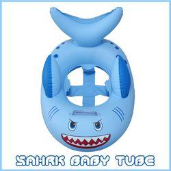 [두로카리스마] 상어 보행기 튜브 유아 아기 베이비