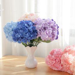 블랜딩수국부쉬 중 47cm 조화 성묘 장식 꽃 FAIAFT