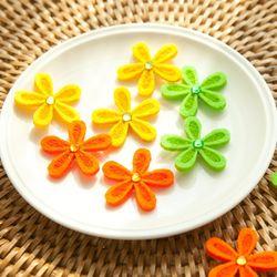 부직포꽃잎(10개입) 3cm DIY 장식 소품 재료 FDIYFT