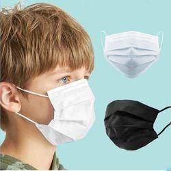 일회용 숨쉬기편한 소형 아동용마스크 10매 3중필터