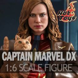 [예약배송/핫토이] 캡틴마블2019 캡틴마블 디럭스 버젼 1:6 피규어 MMS522