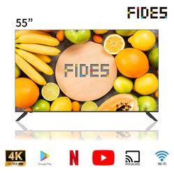 [피데스] 55형 4K UHD 스마트 TV FD20ST55UHD [스탠드무상설치]