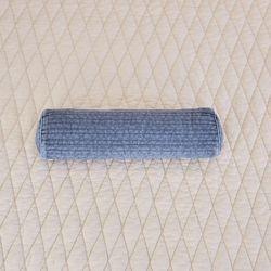 브로즈 피그먼트 블루 줄누빔 편백 사각칩베개 40*12