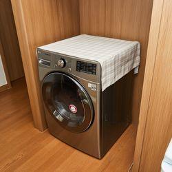 브리에 체크 코팅 세탁건조기