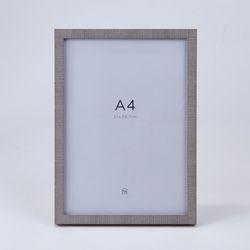 패브릭터치 기본액자 애쉬그레이 A4