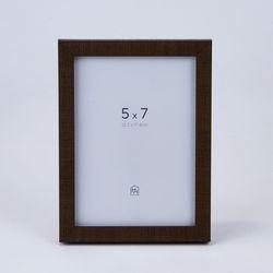 패브릭터치 기본액자 모카브라운 5*7