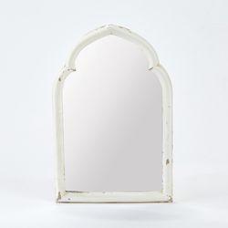 라피니라) 라세느 아치 벽거울 화이트