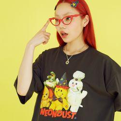 NEONDUST 20SM Friends T-shirt DARK GRAY