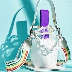캔디백  퍼플 체인 세트 candy bag purple chain set