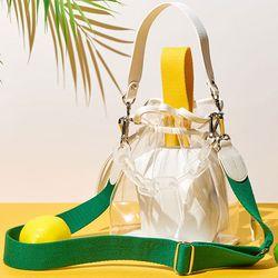 캔디백 옐로우 체인 세트 candy bag yellow chain set