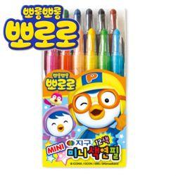 뽀로로미니색연필 12색 뽀로로색연필/샤프식색연필