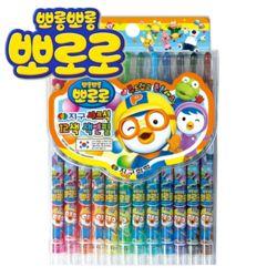 뽀로로색연필 12색 지구화학색연필/샤프식색연필