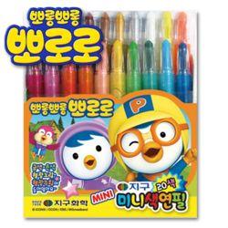 뽀로로미니색연필 20색 뽀로로색연필/샤프식색연필