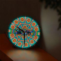 nf287-LED시계액자25R전통의아름다움(단청)