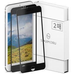 2매 아이폰 6플러스.6S플러스 2.5Ds 엣지 풀커버 강화유리