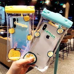 캐릭터 휴대폰 방수 물놀이 스마트폰 방수팩 케이스