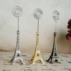비진 에펠타워 미니어처 메모꽂이 사진홀더
