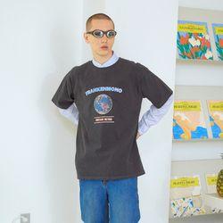 게임 피그먼트 반팔 티셔츠