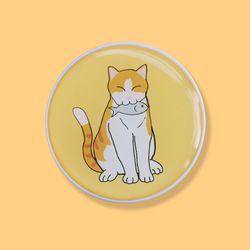 고양이3 에폭시 스마트톡 그립톡 거치대