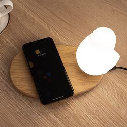 버디 핸드폰 무선충전겸용 LED 무드등 수유등