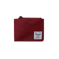FENNEC C&S FOLD WALLET - SMOKE RED