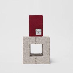 FENNEC C&S CARD CASE - SMOKE RED