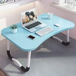 트리홈 접이식 좌식 테이블(블루)
