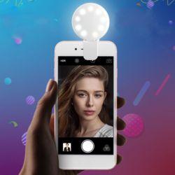 휴대폰 셀카 LED 반사조명렌즈