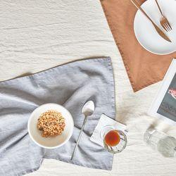 데이리브 린넨 광목 무지 키친크로스 행주 테이블매트 10color