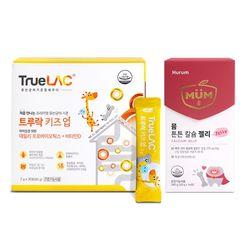 트루락 키즈업 1개월+뮴 튼튼 칼슘 젤리 14포 1박스