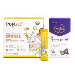 트루락 키즈업 1개월+뮴 아연 젤리 면역력 14포 1박스