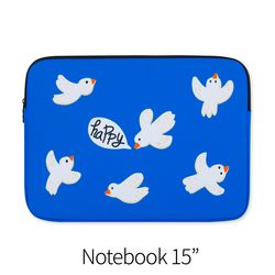 Happy bird (노트북 15인치 파우치)