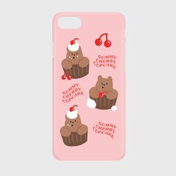 gummy cherry cupcake 하드케이스
