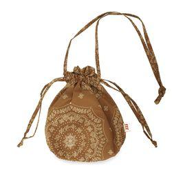 Paisley buddy bag (Camel)