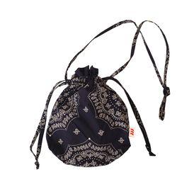 Paisley buddy bag (Navy)