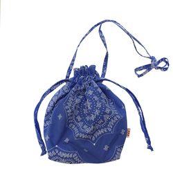 Paisley buddy bag (Blue)