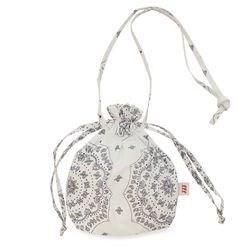 Paisley buddy bag  (White)